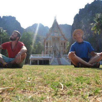 Io e il mio amico ciclo-viaggiatore Drazen